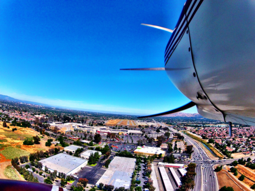 tdpilot:  On final into KRHV in San Jose CA- Taken with Gopro Hero2   Going to start changing things up a bit. I am now going to fly every flight with the Gopro camera on. My goal is to give you guys both video and stills with different angles. Also, if any of you ever have questions about anything, feel free to ask. I am always willing to answer your questions.