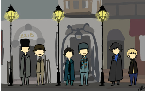 lemon-wedges:  The address is 221B Baker Street   (via imgTumble)