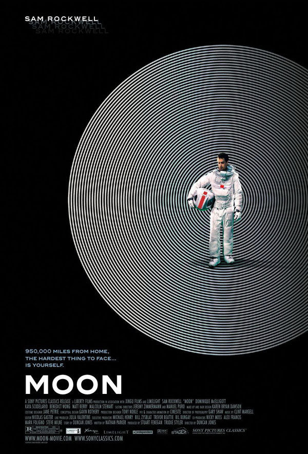Moon, starring the amazing Sam Rockwell is on Netflix streaming. Check it out because it's a movie that will blows minds.