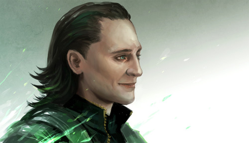 horsesmusicart:  Today's Art: Loki by sandara!  Also, I'd like to thank all my new followers! We are one away from forty now! n_n