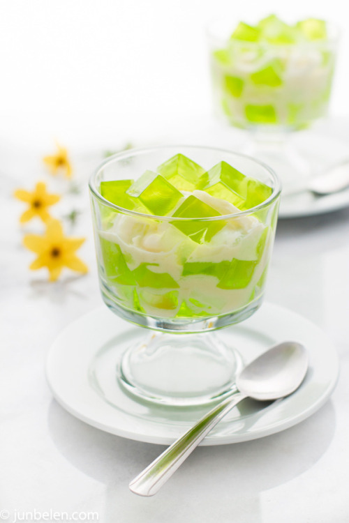 foodopia:  buko pandan salad, a popular filipino dessert: recipe here