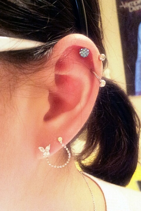 My piercings (left) (Photo by jhbae1205)