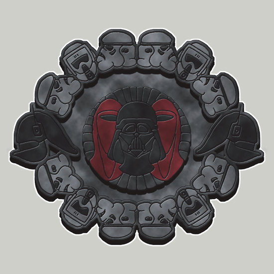 tiefighters:  Aztec Empire Created by Andrew Hunter / yayzus Shirts available at redbubble.