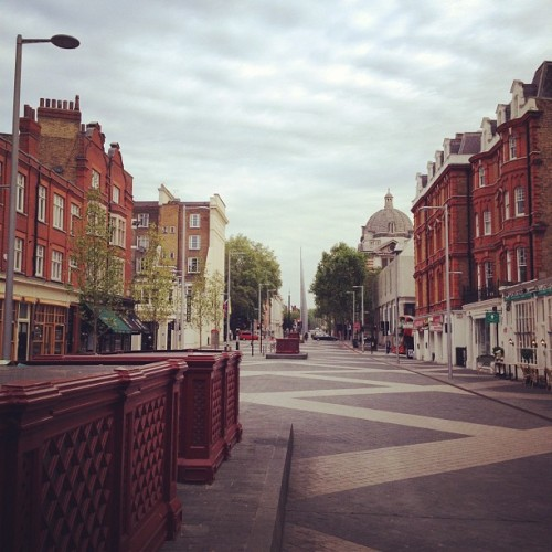 Good Morning South Ken :) (Taken with Instagram at South Kensington)