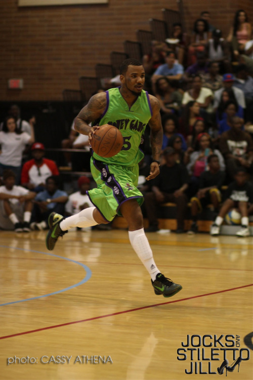 The Game Playing in the Drew League