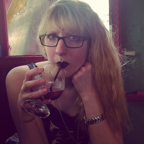 barleyshow:  @lemmylovesyou, not enjoying sangria #mexicansareweird #racistalittle (Taken with instagram)  I was unhappy because there were potatoes on it instead of fruit.