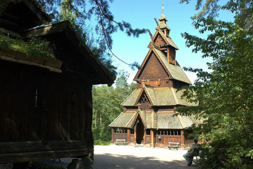 Stave Church by Today is a good day on Flickr.