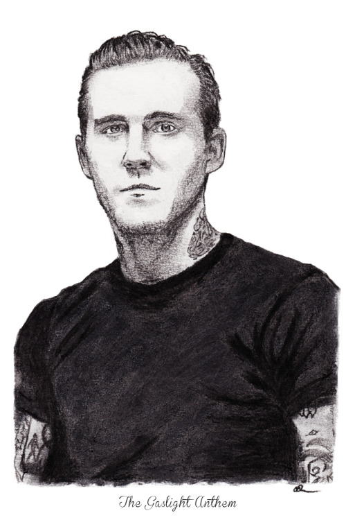 Brian Fallon of The Gaslight Anthem. Medium charcoal pencil and medium willow vine charcoal. Prints:http://dpart.smugmug.com/buy/23178382_7KPf8K/1887228038_SnbTkHL/