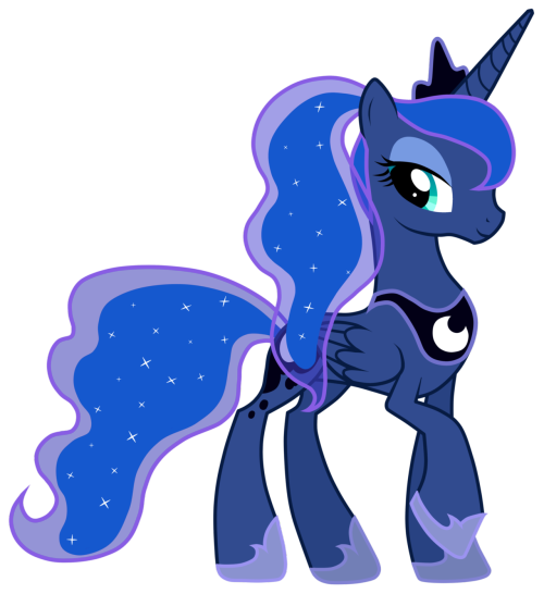 lotusmist:  Luna With A Ponytail by *JennieOo