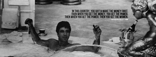 Scarface Money Power Women Facebook Cover