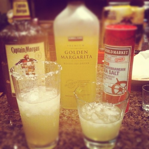 Margaritas with Babycup (Taken with instagram)