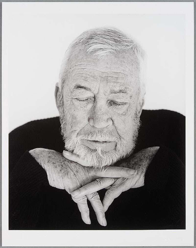 John Huston, por Herb Ritts, 1987