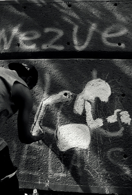 libera en calle on Flickr.arte  Caracas @FiverWeed twitter /tumblr/ blogger