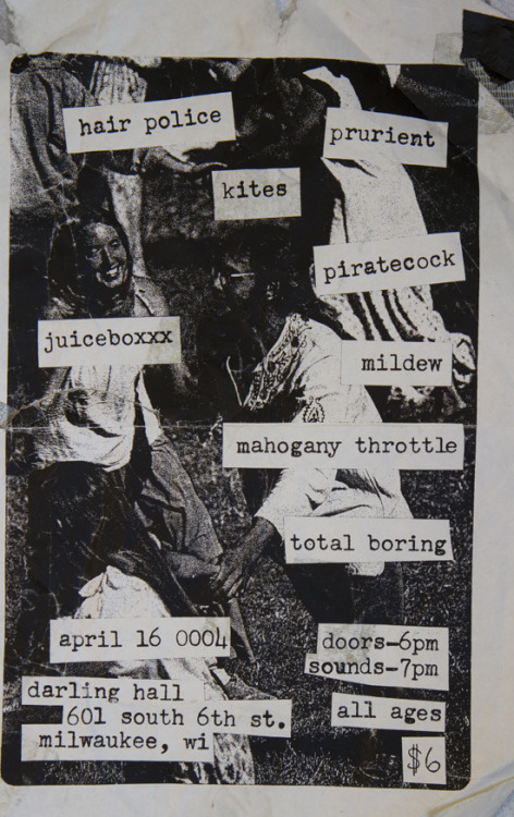FLYER BY MILDEW.