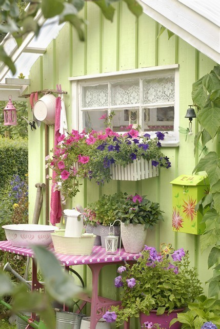 I'm suddendly deciding how my garden shed will be