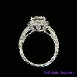 Beautiful & Timeless Engagement Ring by Rothstein Jewelers of Beverly Hills