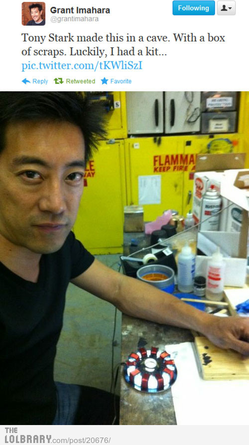 Grant Imahara Is AwesomeFollow this blog for the best new funny pictures every day