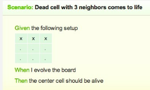 Evolving a dead cell - Practice-game-of-life - Esambo - Relish