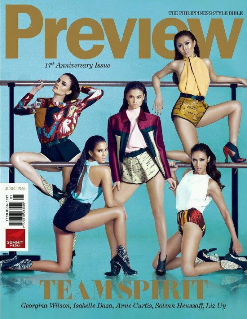 Have you guys grabbed your copy of this month's Preview? It's the 17th anniversary issue!
