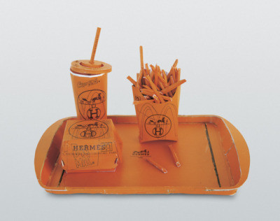 Hermes Value Meal // 1997 Tom Sachs