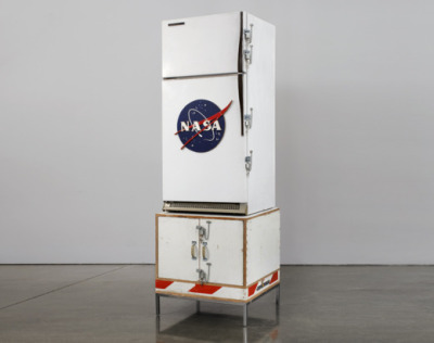 Champagne Fridge // 2007 Tom Sachs