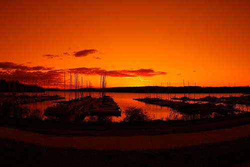 sapphire1707:  16mm fisheye with orange filter by waleskeg on Flickr.
