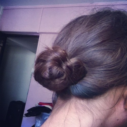 Tried a low braided chignon and it works! #style #igsg #sgig #instagramhub #instasg #instagramsg #lovely #sweet #awesome #cool #iphoneography #iphonesia #hairstyles #hair #girl #hairstyle  (Taken with instagram)
