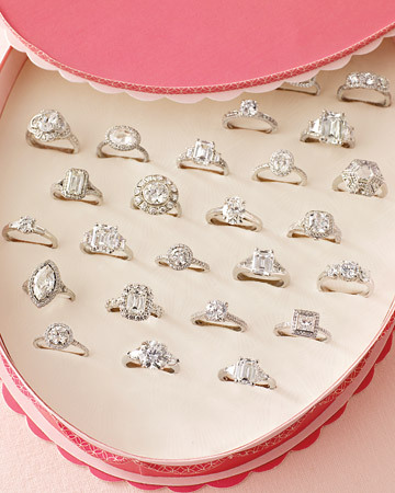 Looking 4 the Perfect Engagement ring is exhausting but fun  =D  ^which one do you prefer ? ;>