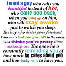 I want a guy like that.