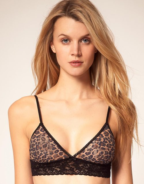 Hanky Panky Leopard Print BraletteMore photos & another fashion brands: bit.ly/JhcZoY