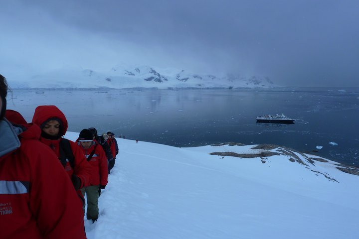 (this picture belongs to me ©) a mountain hike/climb in Antarctica over a year ago.