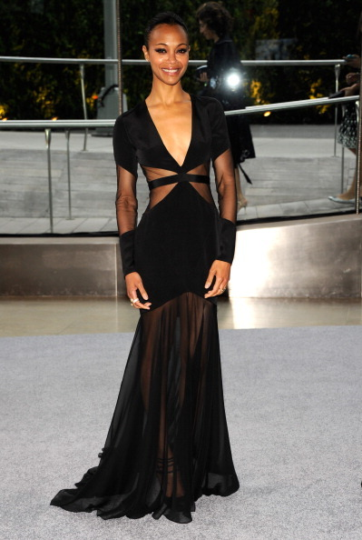 Zoe Saldana at the CFDA Fashion Awards at Lincoln Center in NYC.