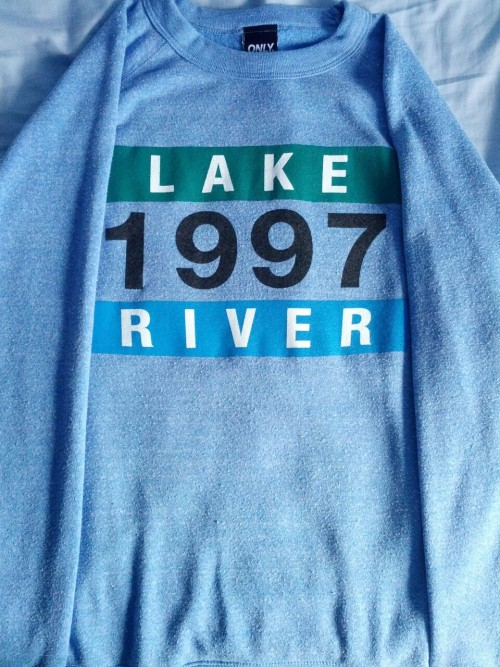 rago:  Selling this Only NY Lake River Crew neck from Spring/Summer 12. A nice crew that suits both summer and winter. Size L. Only worn ONCE around the house and in perfect condition. I brought this for £65 (not including postage) and STILL retails on certain websites (such as Flatspot) for £60 (not including postage) so if you are interested just message me and we can discuss a price. Looking for around 3/4 of the retail price. I live in Birmingham, UK and willing to ship anywhere as long as we discuss the postage. Also willing to meet in Birmingham if I know and speak to you. Would like to sell this asap - shipping the very minute I receive payment so will be with you in a few days at max. Reblogs greatly appreciated. Rago.