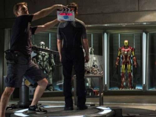 "Fans get a sneak peek from the set of 'Iron Man 3′  Marvel Studios released a photo from the set of ""Iron Man 3″ Monday, giving local residents and fans a glimpse of filming from behind the scenes. The movie, a Marvel Studios/Disney production, began filming May 23 at Wilmington's EUE/Screen Gems Studios. Filming is expected to wrap sometime in October, state and local film industry officials have said. Last week, the movie's star, Robert Downey Jr., about 20 extras and 150 crew members filmed an office scene at Cape Fear Club at 206 Chestnut St. …  starnewsonline.com"