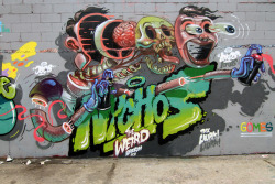 stadtjunge:  nychos the weird by Luna Park on Flickr.