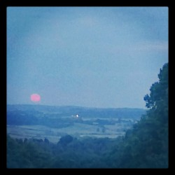 I see a red moon rising (Taken with instagram)