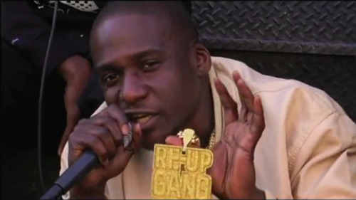 "intotheswamp:  Clipse - Sacrificial Lambs Freestyle (off Selector Mixtape Vol 1, 2012, Pitchfork) Okay, so… I cheated on saying Clipse's ""Sacrifical Lambs"" is one of the best rap songs of the year, as it was originally shown to the public in 2010 in the form of a freestyle for Pitchfork TV's Selector series. Also, it's a freestyle over someone else's beat - in this case Dilla's beat for MF DOOM's ""Gazillion Ear"". (This brings up another issue - when is a freestyle not a song? There's entire swathes of Dipset freestyles which are better than any of, say, Jim Jones' solo album material…) BUT it was a freestyle that I stanned hard over and was finally released on Pitchfork's Selector compilation back in February of this year. SO THERE.Pusha's verse is from the Til The Casket Drops highlight ""Footsteps"", but Malice quietly makes this his moment. One of the most celebrated facets of the Clipse's career is the up-and-down narrative of Malice's moral struggle with his lifestyle. Pusha's always seemed the defiant, haughty and overall younger brother to Malice, who has always suggested a human being moving stony-faced through years of making and regretting your decisions. Remember that unforgettable ""I'm Not You"" verse? Remember the cynicism of his ""Ultimate Flow"" verse? This freestyle is up there with those.The ""Sacrificial Lambs"" freestyle is one of the rare unselfish moments as a hip-hop fan that you want someone to truly pull out of the struggle and make good on themselves. It's a troubling thing to admit, but Lil Wayne's recent output feels like the outcome of not only drug-induced burnout but his own abstinence. Realisation is a scary thing for mainstream rap to come face-to-face with, despite all the incessant talk of being ""real"". We care about outsized personalities, musical worlds and if it takes the drugs/guns/grandeur/cases to capture others' imaginations? So be it.In the video for ""Sacrificial Lambs"", Malice looks fierce and defiant, holding up his Re-Up Gang chain [above] when talking about attending a close friend's trial on drug charges (""my heart bled for Tony as he got up on the stand""), but you definitely get the sense that he's reaching a tipping point of sorts. The elder brother Thornton's recent decision to change his moniker to No Malice is pretty goofy but it's a good mood. He deserves to make a change - I'm thinking he can weather the shift away from life as, well, sacrifice. Grab Selector Mixtape Vol 1 here // Download my compilation RIOT ROMANCE & RATCHET here"
