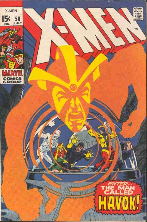 in-sequence:  Uncanny X-Men # 58, Neal Adams