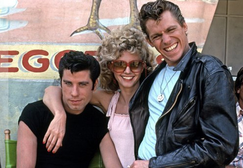 On the set of Grease 1978
