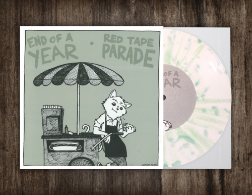 End Of A Year/Red Tape Parade - Split 7""