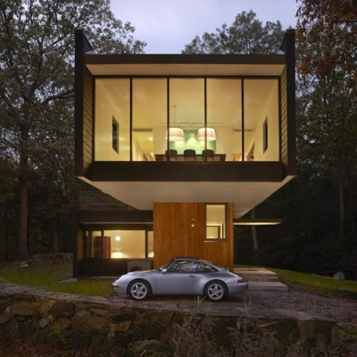collaverglas:  Architecture + 993 via Crank&Piston