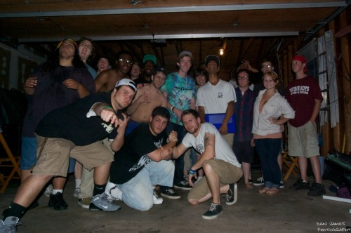 staplekeyboard:  June 3rd Garage Show! Group Photo!  THIS TOO MANNN