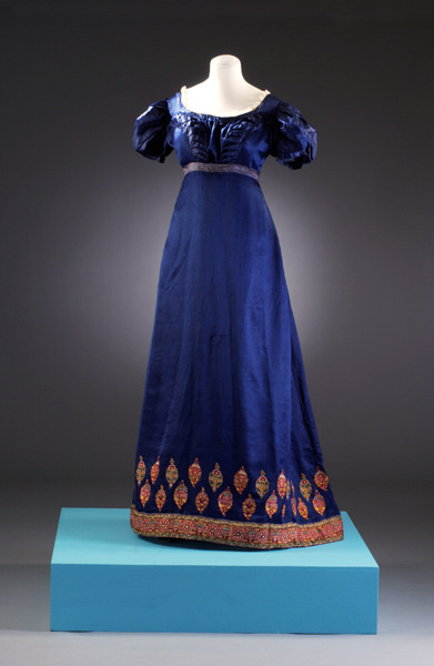 Dress 1815-1819 The Bath Fashion Museum