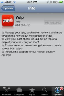 shortformblog:  hypervocal:  Sweet burn! #amercia  Yelp, you clever bastards. (some context, since some of you were confused last time we brought up this topic)
