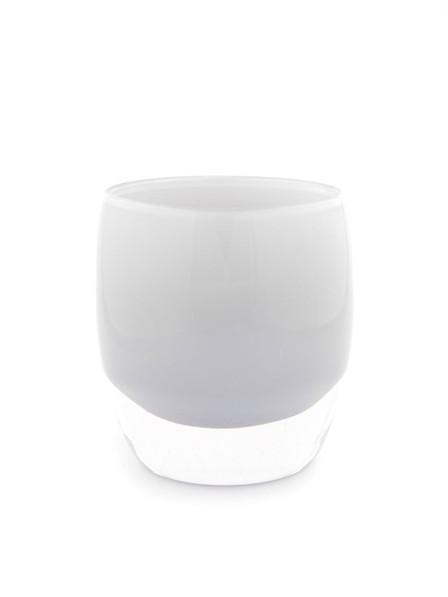 "This opaque glassybaby consists of three layers of hand-blown glass. Because of this process, every glassybaby is unique in color and shape. The glassybaby you receive may be slightly different than the photo seen here. Approximate size: 3.75"" x 2.5"""