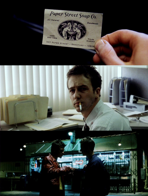 """This is your life and it's ending one minute at a time."" — Fight Club (1999)"