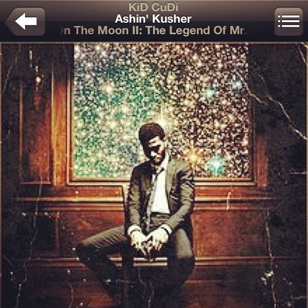 #screenshot #music #ashin #kusher #kidcudi #kid #cudi (Taken with instagram)