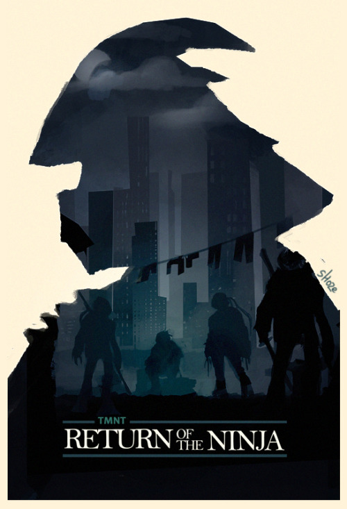 "brain-food:  ""return of the tmnt"" by Galit Weisberg"
