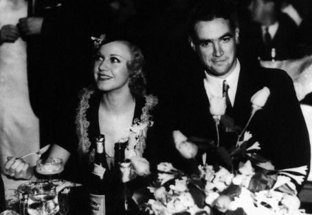 thefilmcanister:  Ginger Rogers and Howard Hughes.