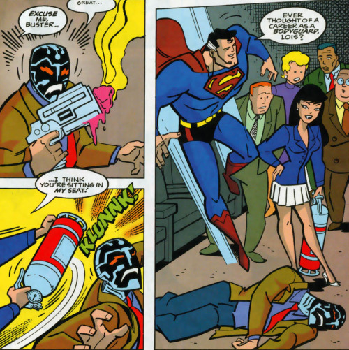 Lois Lane Panel of the Day: ~Superman Adventures #19
